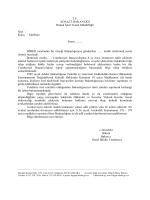 Özel Nitelikli Talep Hakim Savcı Şikayeti
