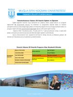 Zorunlu Yabancı Dil Hazırlık Programı Alan Akademik Birimler