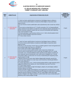 (trabzon) hizmet standartları tablosu