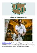 J&J Exterminating Pest Control Baton Rouge LA