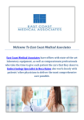Endocrinology Specialist Boca Raton : East Coast Medical Associates