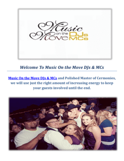 Music On the Move DJs & MCs - Djs In Sacramento