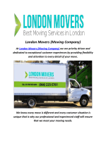 london moving companie