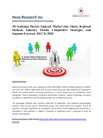 3D Scanning Market Analysis, Share, Regional Outlook, Industry Trends, Competitive Strategies And Segment Forecast, 2012 To 2020