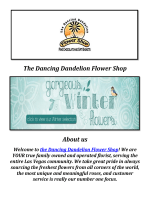 The Dancing Dandelion Flower Shop: Las Vegas Flower Shop