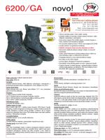 Jolly 6200/GA FOREST RESCUE vatrogasne čizme
