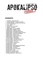 DOMAĆE: - Apokalipso