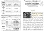 Raspored svetih misa i nakane od 14. do 21. rujna2014. ODGOVOR