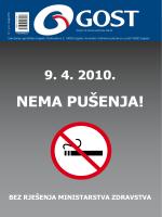9. 4. 2010. nema pušenja!