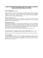 upravni postupak prema novom zakonu o općem upravnom postupku