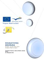 EDUKATIVNA BROŠURA - Udruga inicijativa