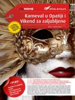 Karneval u Opatiji i Vikend za zaljubljene