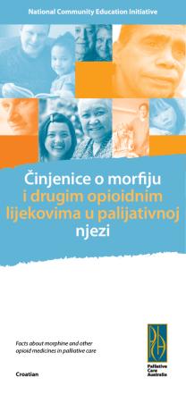 Činjenice o morfiju i drugim opioidnim lijekovima u palijativnoj njezi