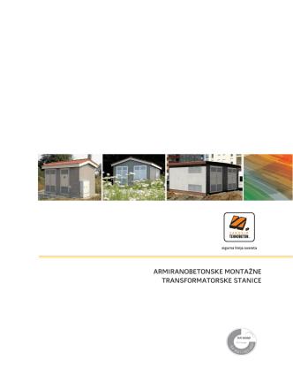 armiranobetonske montažne transformatorske stanice