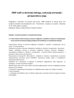 ERBP vodič za doniranje bubrega, evaluaciju primatelja i