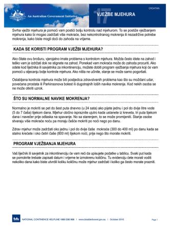 17VJEŽBE MJEHURA - BladderBowel.gov.au