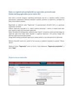Kako se registrirati (pretplatiti) na napredno pretraživanje