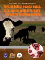 Zarazne bolesti goveda, ovaca, koza, svinja i konja