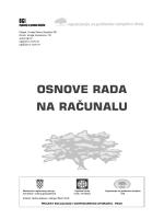 Osnove rada na računalu – 2009 - Organizacija za građanske
