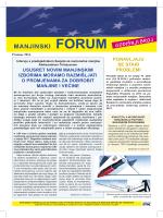 MANJINSKI FORUM 2014 - Nacionalne Manjine Info