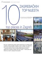 ZAGREBA KIH TOP MJESTA top places in Zagreb Z