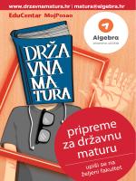 počni se pripremati - Pripreme za državnu maturu | Algebra