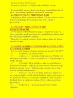Savjet za upoznavanje isfj
