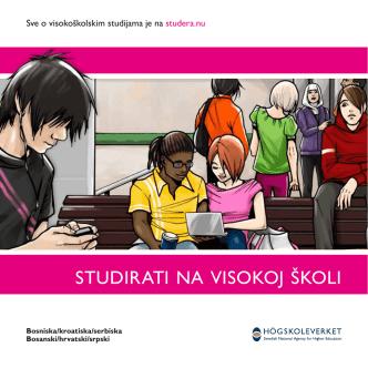 Att studera på högskolan | bosniska, kroatiska