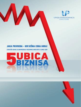 5 ubica biznisa - Unija Poslodavaca Crne Gore