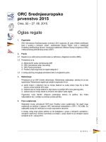ORC Srednjeeuropsko prvenstvo 2015 Oglas regate