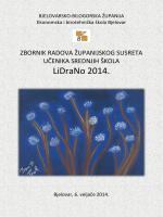 LiDraNo 2014. - Glazbena škola Vatroslava Lisinskog Bjelovar