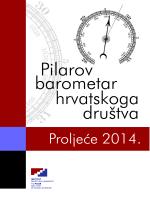 Raspored 1 - PILAROV BAROMETAR hrvatskoga društva