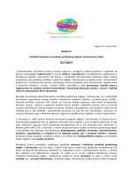 Press release 15. travnja 2014 - Građanski odgoj i obrazovanje