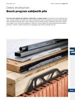Dobro strukturiran: Bosch program sabljastih pila