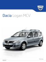Dacia Logan MCV - Daciamodellen.nl