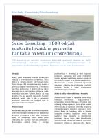 Sense Consulting i HBOR održali edukaciju hrvatskim poslovnim
