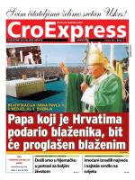 Papa koji je Hrvatima podario blaženika, bit će