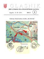 Glasnik Hrvatskog filatelističkog saveza br. 5/11