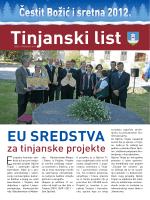 Tinjanski list - Općina Tinjan