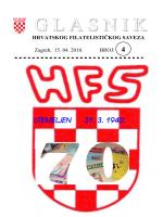 Glasnik Hrvatskog filatelističkog saveza br. 4/10