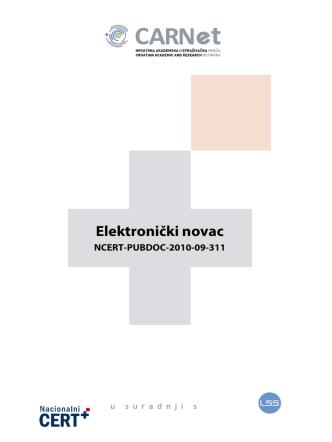 2. Što je elektronički novac?