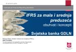 Odjeljak 1 – Mogu li koristiti IFRS za mala i srednja preduzeća?