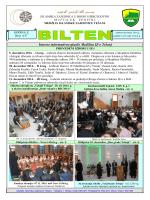 Interno informativno glasilo Medžlisa IZ-e Tešanj