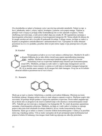 13 Ova kemikalija se nalazi u brojnom voću i povrću