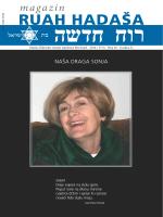 Ruah Hadaša br. 28, prosinac 2014.
