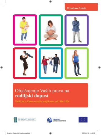 Croatian _MaternityProtectionActs.indd