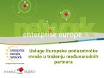 O Europskoj poduzetničkoj mreži (EEN)