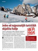 Jedno od najpoznatijih turističkih skijališta Italije