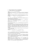 Uvod u funkcije više promjenljivih i parcijalne izvode
