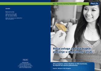 Bolja usluga za Vaše kupce: plaćanje u domicilnoj valuti